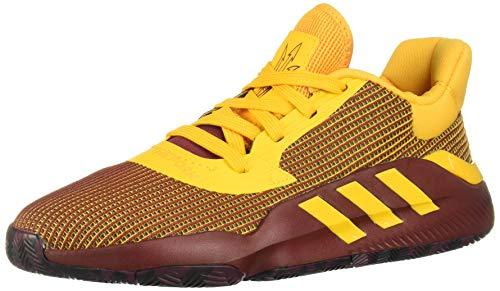Adidas Pro Bounce 2019 Low, Zapatillas de Baloncesto Hombre, Multicolor (Negbás/Granat/Buruni 000), 44 EU