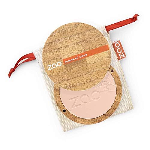 Zao - Poudre Compacte Bio / 9 Gr - Couleur : Capuccino n° 304