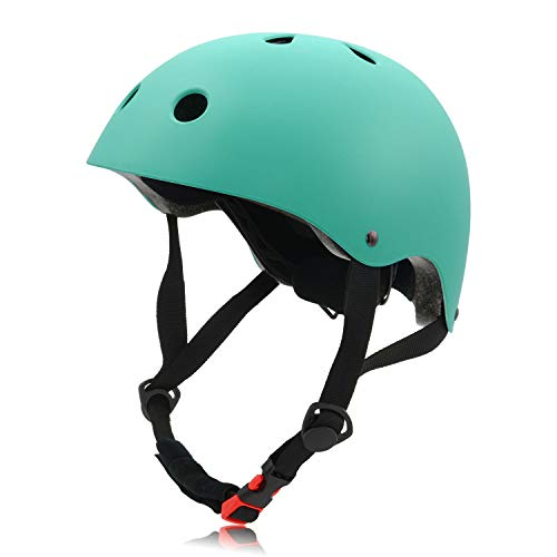 Save %7 Now! FerDIM Skateboard Helmet Adjustable, Kids Youth Adult Bike Helmet CPSC Certified, for S...