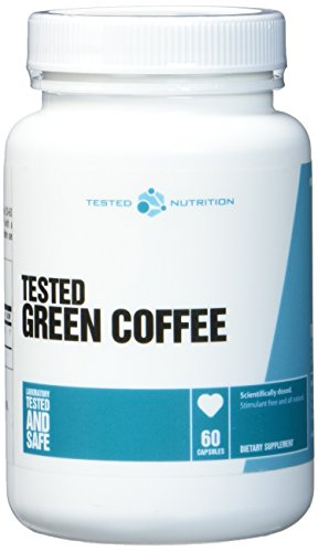 Tested Nutrition Green Coffee Grüne Kaffeebohnen Fettreduzierung Fettabbau - 60 Kapseln
