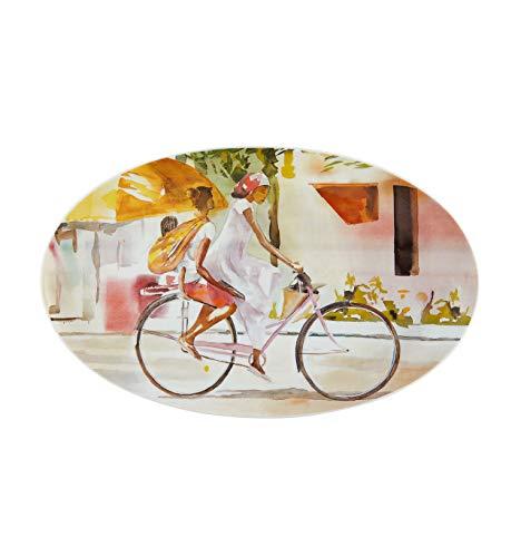 Vista Alegre Plato ovalado de porcelana por Gemuce