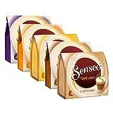 Senseo Café Dosettes Creamy Collection Set, Café au Lait, Lait, 5variétés