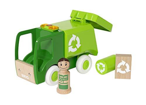 BRIO 30278 - My Home Town Müllwagen mit Licht und Sound