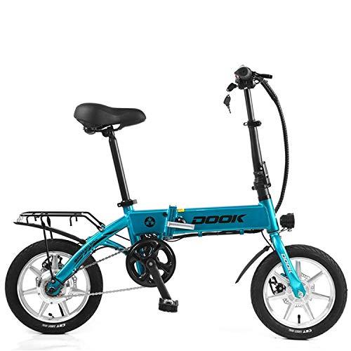 LFANH Scooter Eléctrico, La Bicicleta Plegable Eléctrico con Motor De 250W /...