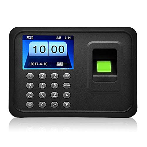Learn More About JSYCD LCD Display Fingerprint Attendance Machine, USB Biometric Identify Punch Card Machine, Employee Checking-in Recorder, Black