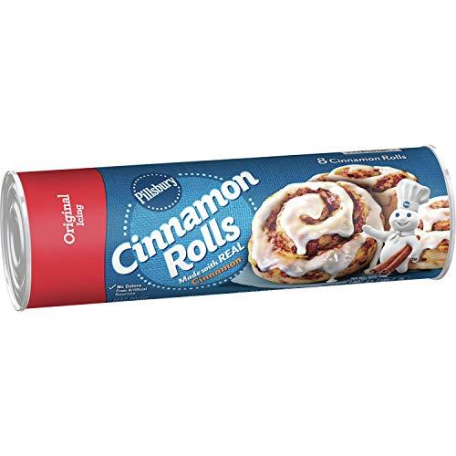 Pillsbury Cinnamon Rolls, Original Icing, 8 ct, 12 oz