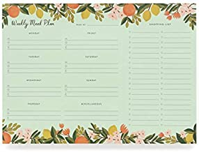 Rifle Paper Co Citrus Floral Meal Planner