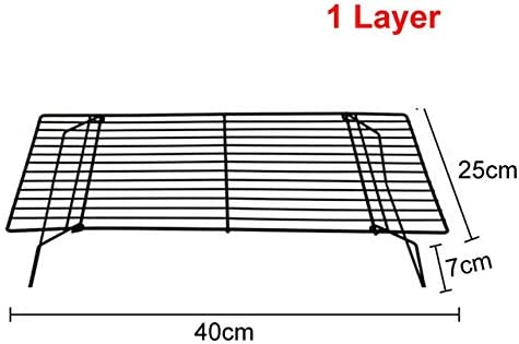 PSGS 3Layers Stackable Wire Grid Max 82% OFF Cooling Rack Ove Cake Tray Los Angeles Mall Food