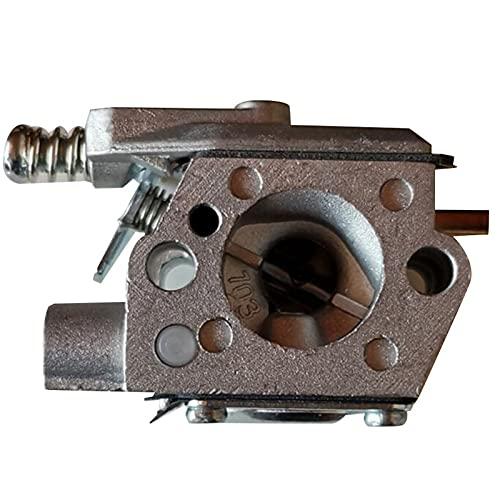 SYCEZHIJIA Piezas de Repuesto para cortacésped Carburador para Emak Oleo Mac Sparta 35 36 37 38 40 42 43 44 WT869A WT1129 (Color : Pink)