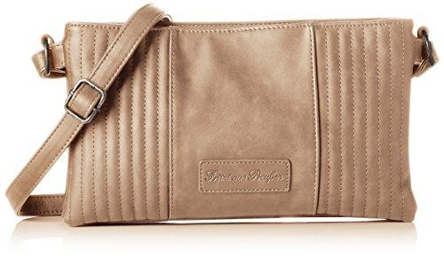 Fritzi aus Preussen Damen Evita Business Tasche, Braun (Lynx), 2x18.5x31 cm