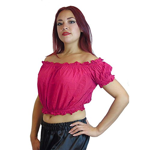 UK Seller Femme multicolore vert bouteille 12//14-16 - Top /à manches longues Dancers World Ltd