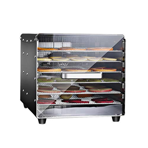 Best Prices! Commercial Food Dehydrator Machine,Adjustable Temperature 30°C-90°C, 6-layer Adjustab...