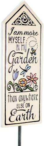 Modern Artisans Max 54% OFF Ceramic Art Tile Garden 'I'm with More Mys Stake Discount is also underway