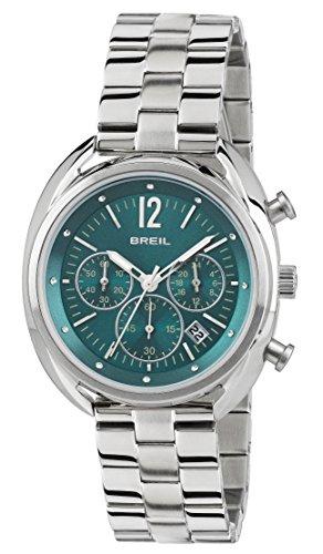 BREIL Orologio Cronografo Quarzo Donna con Cinturino in Acciaio Inox TW1677