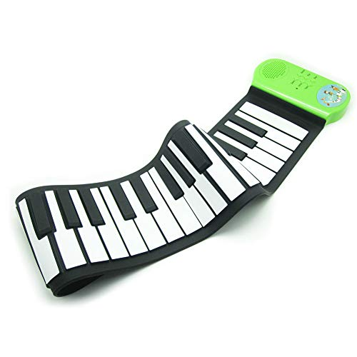 Why Should You Buy LVSSY-Child Roll Up Piano Keyboard Music Hand Roll Piano Battery Suitable for Beg...