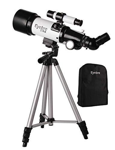 JIAWYJ Teleskop/astronomisches Teleskop, 40070 Portable Professional Star Beobachtung Refraktor, für Anfänger HD Dual-Use-Teleskop, mit Stativ, Smartphone-Adapter/Rohstoffcode: WXJ-1021