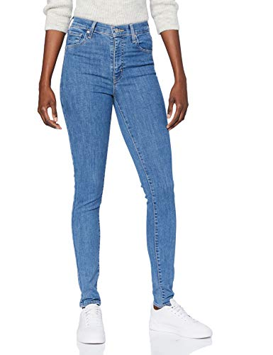 Levi's Mile High Super Skinny Jeans, Galaxy Stoned, 24W / 28L Donna