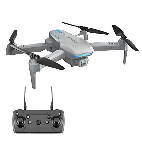 Dron plegable de 2,4 GHz con transmisión 1080P HD WiFi FPV en vivo, dron GPS con regreso a casa y control por gestos, 4 canales, dron plegable para principiantes