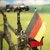 PROFEX EM WM Fahrradflagge Fahne Deutschland 14x21cm