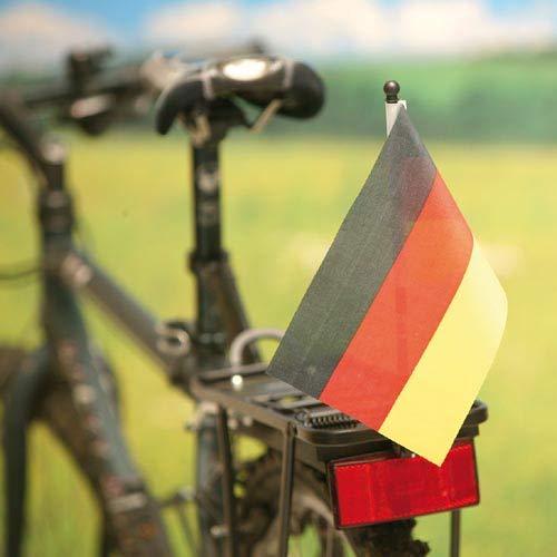 Profex 10x EM WM Fahrradflagge Fahne Deutschland 14x21cm