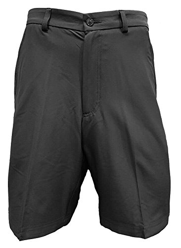 Cypress Club Flat Front Golf Shorts Mens (Gray, 36)