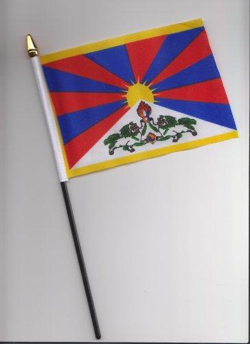 Tibet Hand Flagge 25cm