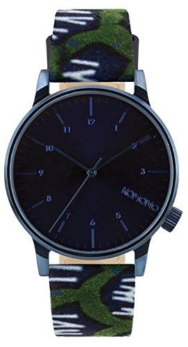 Komono x Vlisco The Winston Watch Indigo, One Size