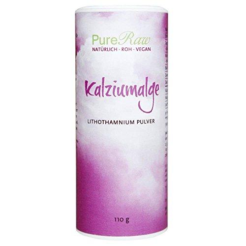 Kalziumalge, Lithothamnium Pulver, (Roh), 110g