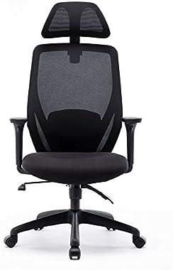 Ergonomic Swivel High Back Chair Office Computer Chair Office Desk Chair Computer Task Chair with Headrest Mesh Chair (1)