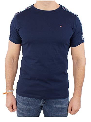 Tommy Hilfiger - UM0UM00562 - Rn Tee Ss - T-shirt - Homme - Bleu (Navy Blazer 416) - Taille: M