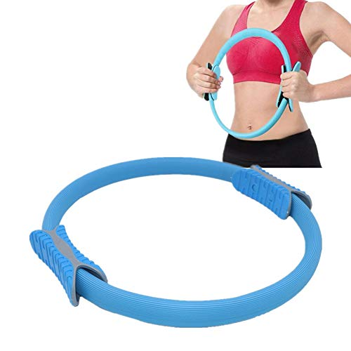 chunnron Pilates Círculo Mágico Yoga Circle Anillo Muslo ejercitador Anillo de Pilates círculo mágico Entrenamiento Anillos Pilates Estiramiento Anillos Blue,-