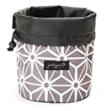 Jadyn B Cinch Top Compact Travel Makeup Bag and Cosmetic Organizer for...