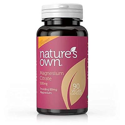 Natures Own | Magnesium Citrate | 90 Caps