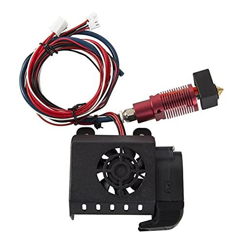 QAZWSXED LESANGBAIHUODIAN Kit de extrusora ensamblada Completa Funda de Ventilador Conexiones de Aire Boquilla Hot End Hotend Kits FIT For Creaality Impresora 3D CR-10S Pro