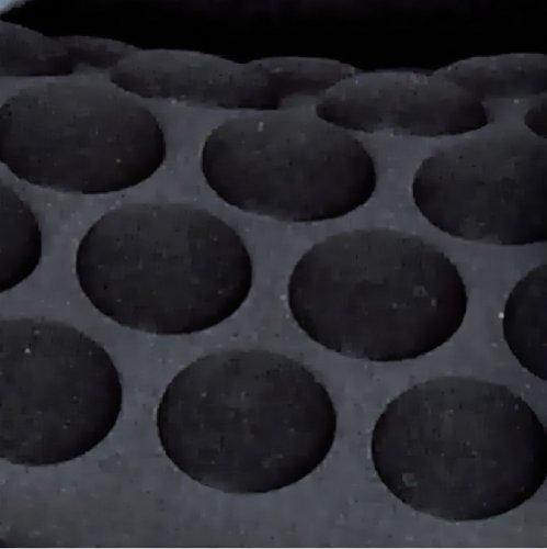 Foppapedretti Isodinamik, Silla de coche grupo 1/2/3 Isofix, Negro/Gris