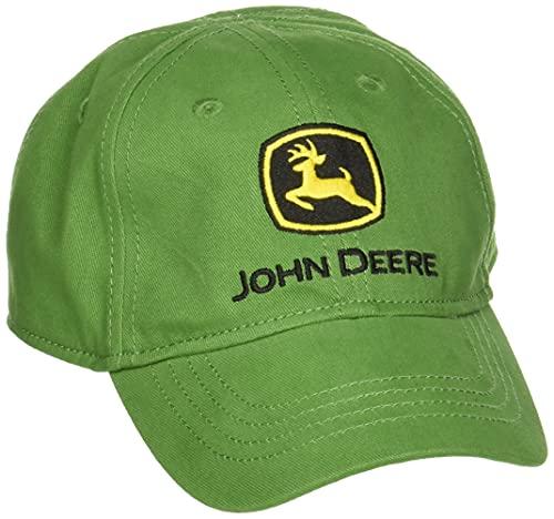 John Deere Boys' Trademark Baseball Cap, Green, Toddler