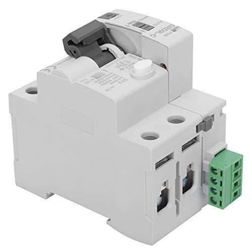 Jeanoko Protección contra sobretensiones 2P de garantía de Calidad Protector contra sobretensiones de 220 V para componentes electrónicos de 220 V(25A)