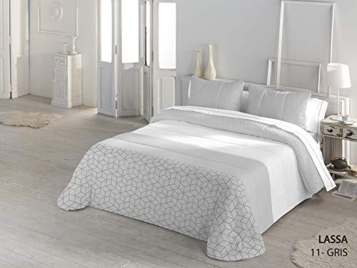 Serena Sherpa LASSA Comforter, Gris, (135) 235X260