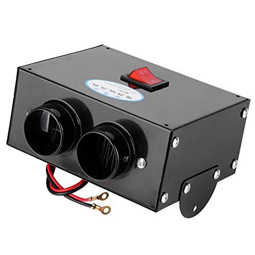 Riscaldatore per auto CHICIRIS, Riscaldatore per auto a basso rumore automatico completo da 500 W Purifica lo sbrinamento per riscaldamento ad aria(24V)