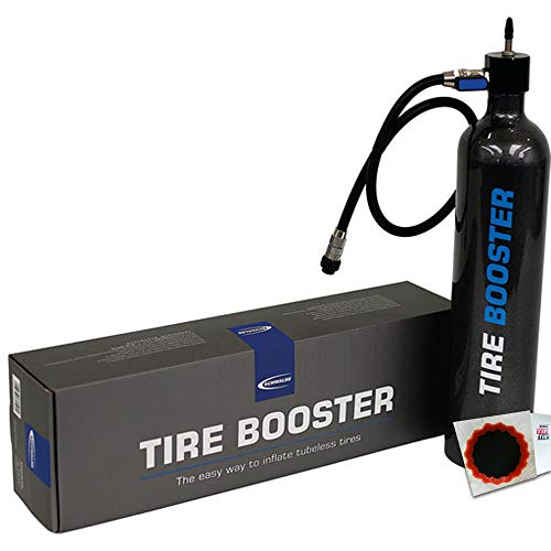 Schwalbe Minipumpe Tire Booster f. Tubeless-Montage 6080 4026495805902 +Flicken