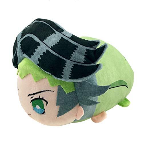 Anime Jojos bizarres Abenteuer Rohan Kishibe Giorno Diavolo Cosplay Niedliche Plüsch Maskottchen Puppen Spielzeug Kissen Dango Puppe Rohan Kishibe, 30X20X18CM