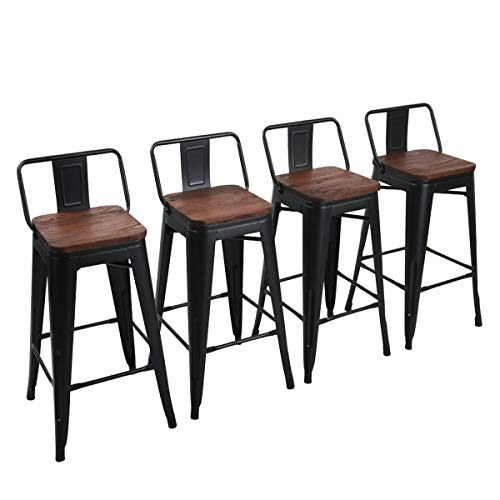 Yongchuang Metal Bar Stools Counter Height Stools