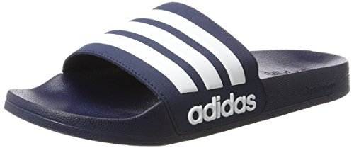 adidas Adilette Shower, Chanclas para Hombre, Azul (Collegiate Navy/Footwear White/Collegiate Navy 0), 40.5 EU