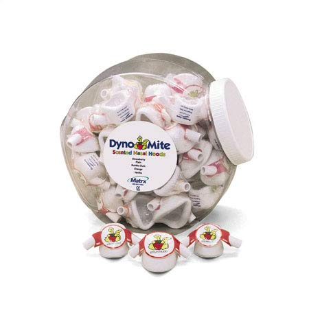 PIC Dynomite Nasal Hoods Small Assorted Canister of 24