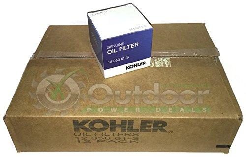 Case of 12 Kohler 1205001-S 1205001S 12 050 01S Oil Filter Genuine OEM