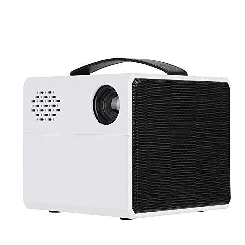 Mini proyector con asa, proyector de Video con Pantalla LCD portátil de 2 Pulgadas y...