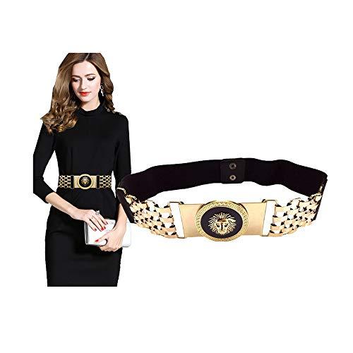 VITOGIFTRIA Stretch Belts For Women Luxury Women Skinny Dress Belt For Ladies Fashion Elastic Waist Band Belts Buckle