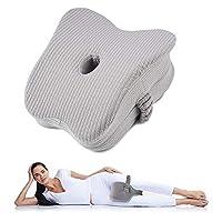 wotek cuscino per le gambe cuscino ortopedico ginocchia per dormire schiuma di memoria leg pillow cuscino supporto ginocchio aiuta a correggere la postura dormire e ad alleviare il mal di schiena