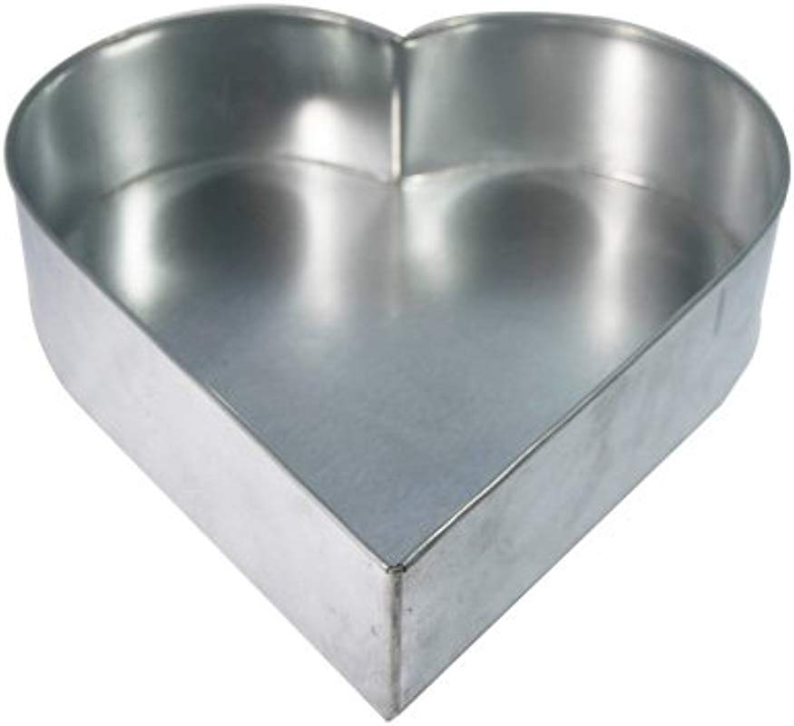 Single Heart 6 Multilayer Birthday Wedding Anniversary Cake Tins Pans Mould By Falcon