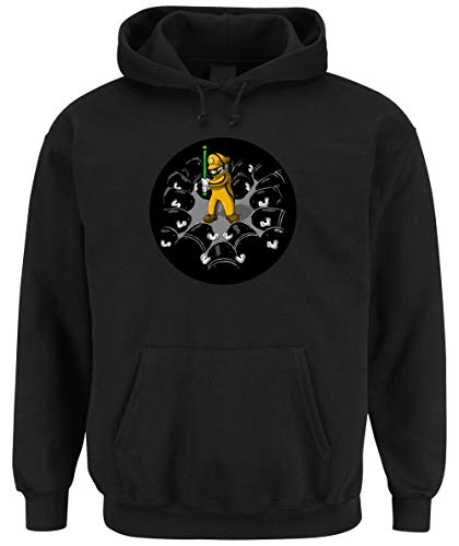 Certified Freak Mario Killer Hooded-Sweater Black L